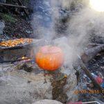 Tökleves, ahogy Steiger Oszkár barátom készíti a táborban