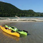 Kajakokkal a Duna hazai szakaszán